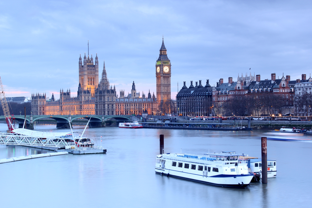 Thames and boats